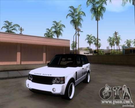 Range Rover Hamann Edition pour GTA San Andreas vue de droite