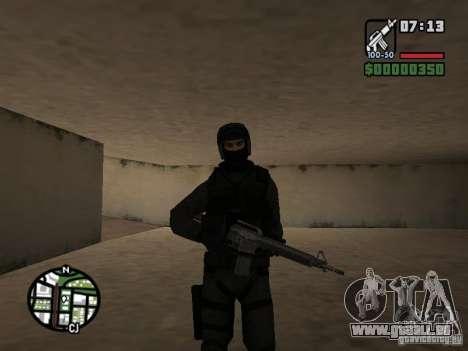Umbrella soldier für GTA San Andreas her Screenshot
