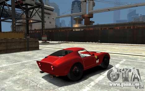 Ferrari 250 Le Mans für GTA 4 rechte Ansicht