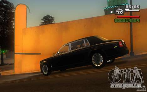 Rolls-Royce Phantom EWB pour GTA San Andreas laissé vue