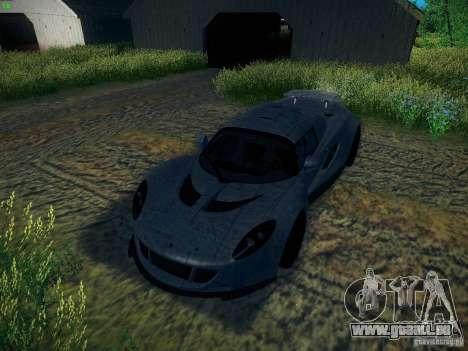 Hennessey Venom GT Spyder für GTA San Andreas Innen
