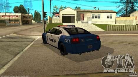 Dodge Charger Los-Santos Police pour GTA San Andreas laissé vue