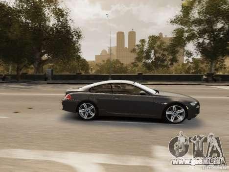 BMW M6 2010 für GTA 4 Seitenansicht