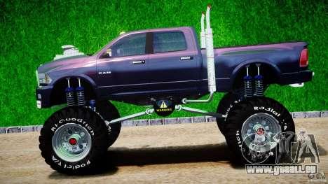 Dodge Ram 3500 2010 Monster Bigfut für GTA 4 linke Ansicht