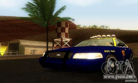Ford Crown Victoria West Virginia Police pour GTA San Andreas