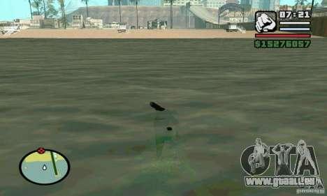 Segeln Sie in 2 mal schneller für GTA San Andreas zweiten Screenshot