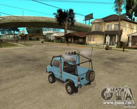 LuAZ 969 m away-Tuning pour GTA San Andreas laissé vue
