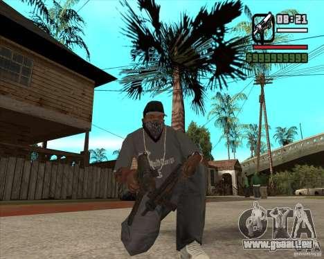 Armes de Pak de Fallout New Vegas pour GTA San Andreas quatrième écran