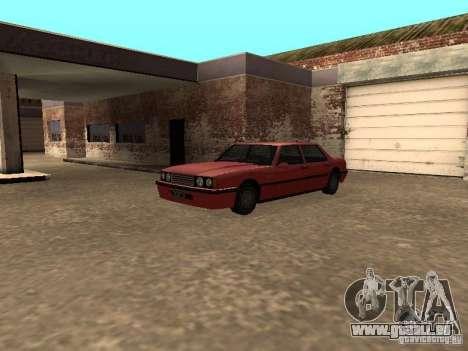 Standard Vincent für GTA San Andreas Rückansicht