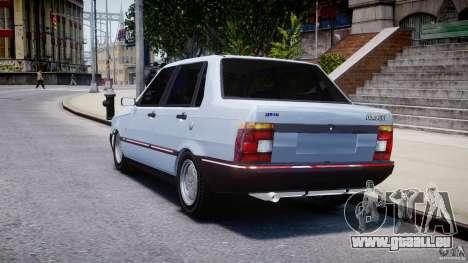 Fiat Duna 1.6 SCL [Beta] für GTA 4 hinten links Ansicht