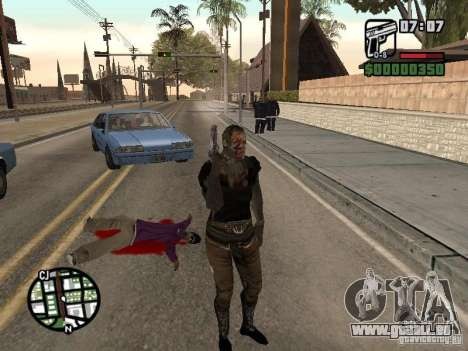 Zombe from Gothic pour GTA San Andreas
