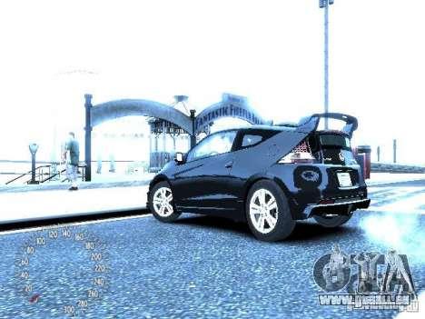 Honda Mugen CR-Z pour GTA 4 Vue arrière de la gauche