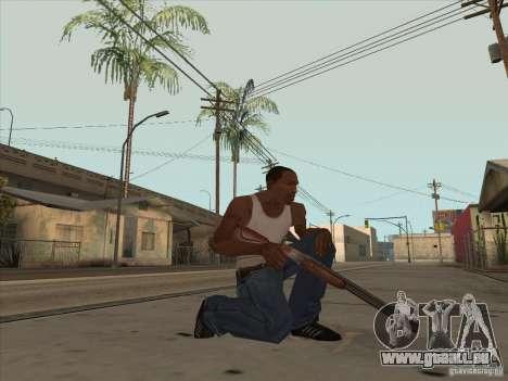 Nouveau Pack d'armes domestiques pour GTA San Andreas troisième écran