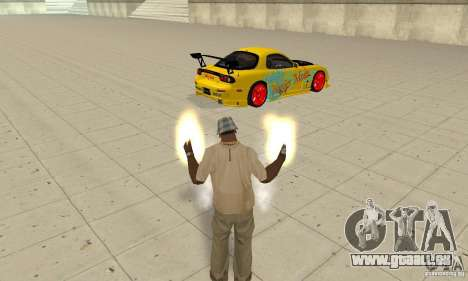 Übernatürliche Fähigkeiten der CJ-ich für GTA San Andreas dritten Screenshot