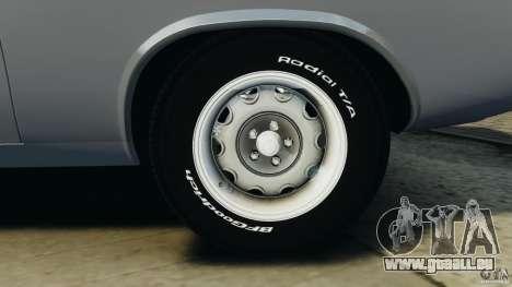 Dodge Challenger RT 1970 v2.0 pour GTA 4 est une vue de dessous