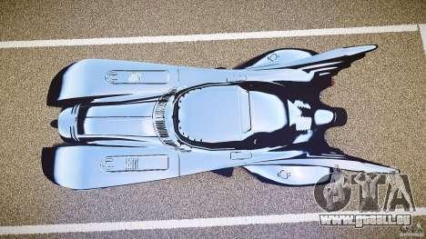 Batmobile v1.0 für GTA 4 Rückansicht