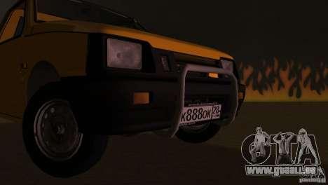 SeAZ Pickup pour une vue GTA Vice City de l'intérieur