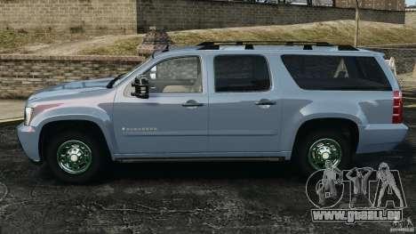 Chevrolet Suburban GMT900 2008 v1.0 für GTA 4 linke Ansicht