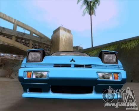 Mitsubishi Starion pour GTA San Andreas vue arrière