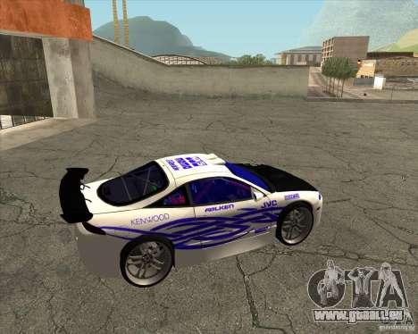 Mitsubishi Eclipse street tuning für GTA San Andreas rechten Ansicht