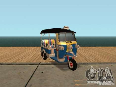 Tuk Tuk Thailand pour GTA San Andreas