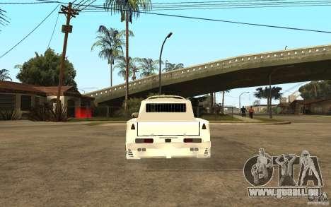 IZH 27151 für GTA San Andreas zurück linke Ansicht