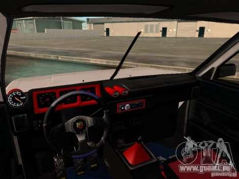 Tofas Sahin DRIFT pour GTA San Andreas vue de côté