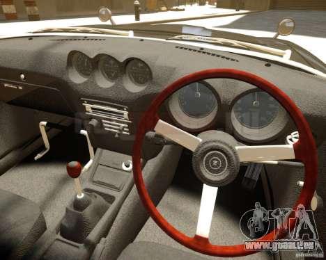 Nissan Fairlady Z HS30-240Z pour GTA 4 Vue arrière