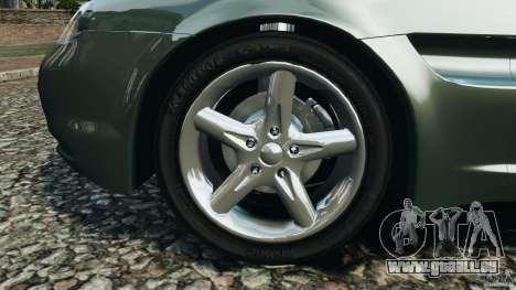 Daewoo Bucrane Concept 1995 pour GTA 4 est une vue de dessous