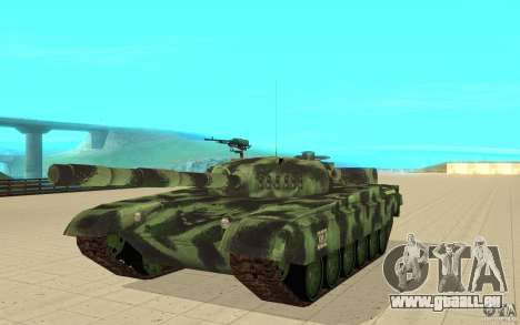 Panzer T-72 für GTA San Andreas