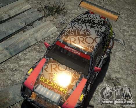 Mitsubishi Pajero Proto Dakar EK86 Vinyl 1 für GTA 4 Seitenansicht