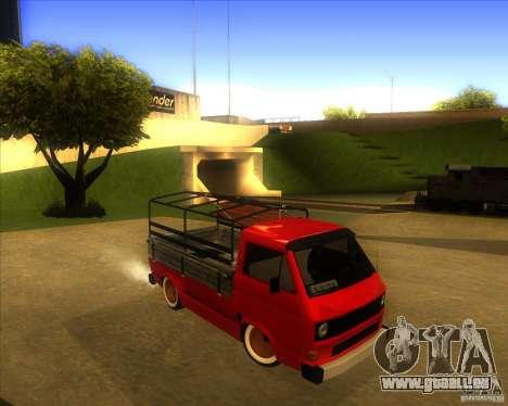 Volkswagen Transporter T3 pickup pour GTA San Andreas