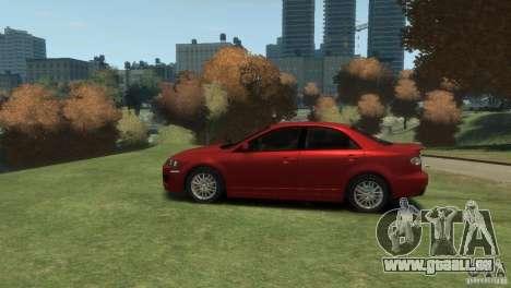 Mazda 6 MPS pour GTA 4 Vue arrière de la gauche