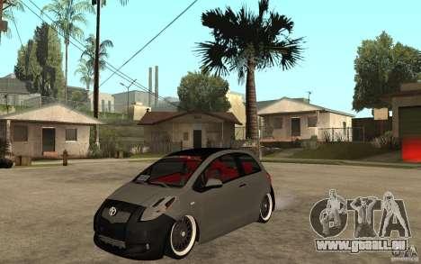 Toyota Yaris II Custom pour GTA San Andreas