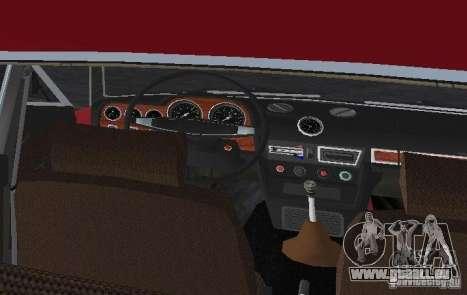 VAZ 2106 pour une vue GTA Vice City d'en haut
