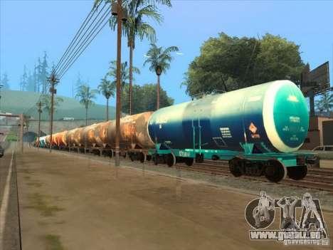 2 wagons pour GTA San Andreas vue intérieure