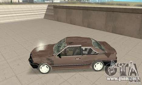 Volkswagen Santana GLS 1989 für GTA San Andreas Unteransicht