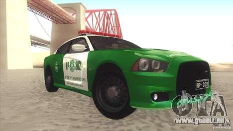 Dodge Charger SRT8 Carabineros pour GTA San Andreas