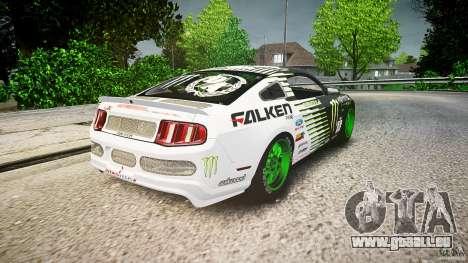 Ford Mustang GT Falken Tire v2.0 für GTA 4 Seitenansicht