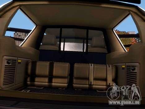 Chevrolet Tahoe Homeland Security für GTA 4 Seitenansicht