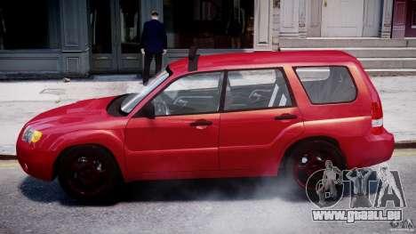 Subaru Forester v2.0 pour GTA 4 Vue arrière de la gauche
