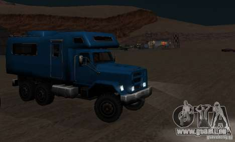Journey 6x6 Enterable V1 für GTA San Andreas