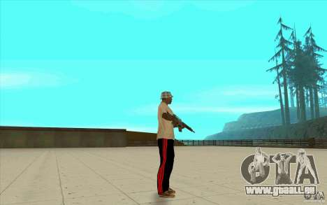 Pantalon adidas pour GTA San Andreas cinquième écran