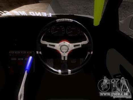 Nissan Silvia S13 Drift Style für GTA San Andreas Innenansicht