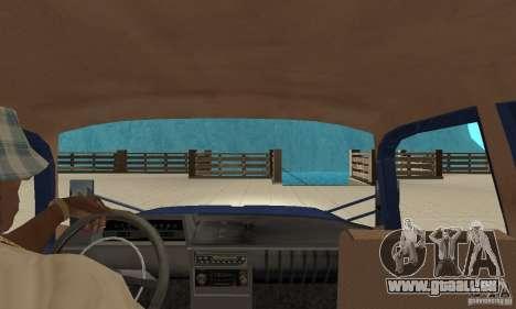 Moskvitch 412 avec tuning pour GTA San Andreas vue de droite