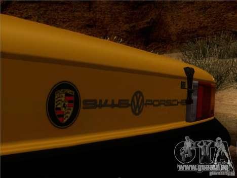 Porsche 914-6 für GTA San Andreas Unteransicht