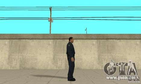 Ein Polizist aus GTA 4 für GTA San Andreas zweiten Screenshot