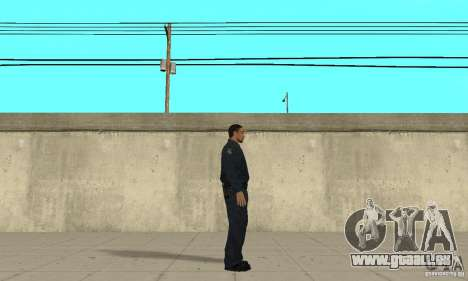 Un officier de police de GTA 4 pour GTA San Andreas deuxième écran