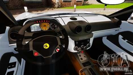 Ferrari 599 GTB Fiorano 2006 pour GTA 4 Vue arrière