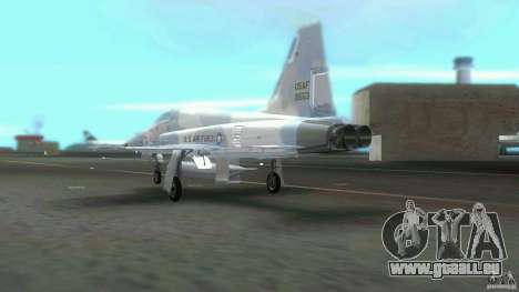 US Air Force für GTA Vice City Rückansicht
